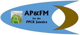APFM for the PPCR Jamaica logo
